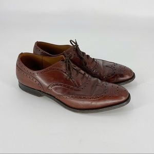 CHURCH'S Wingtip Leather Oxford Derby Mens 9 D